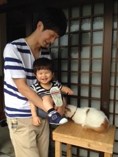 ☆お盆は家族でネコがいる御誕生寺に行ってきました☆