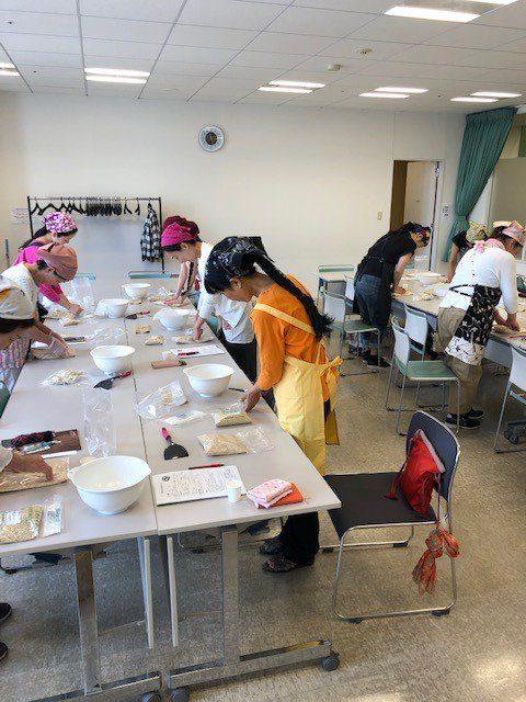 6月17日 大阪梅田で味噌作り教室を開催しました。
