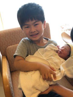 6月25日に第二子が産まれました。