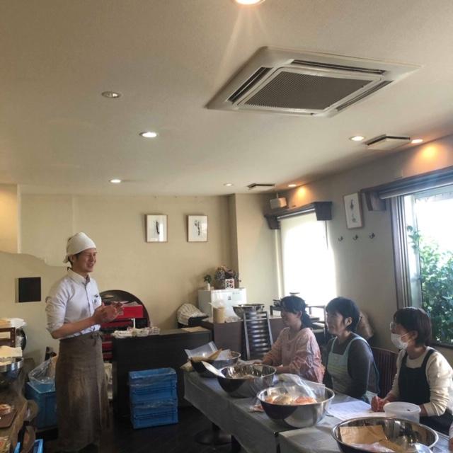 2月24日は、名古屋ピタゴラスイーツ様で手作り味噌教室を開催しました。