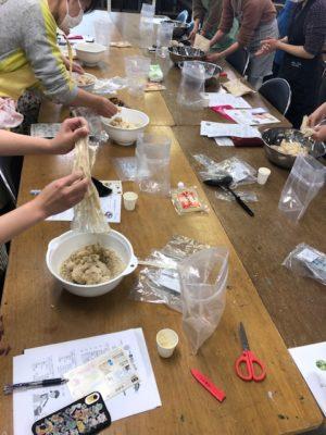 NHK青山教室様で手作り味噌教室を開催しました。